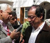 Petro se excusó en el Concejo de Soacha
