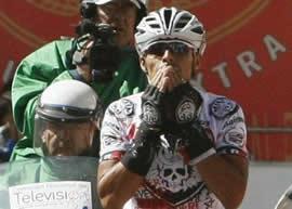 Juan Pablo Wilches ganó la primera etapa de la Clásica Soacha