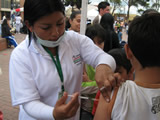 Soacha respondió a la jornada de vacunación