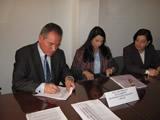 Se firma convenio de cooperación para construir el Centro de Desarrollo juvenil