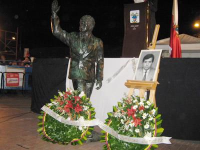 Soacha rindió homenaje a Luis Carlos Galán