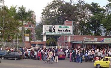 Amenazas de cierre en el Hospital San Rafael de Fusa