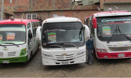 Siguen atracos al transporte público en Soacha