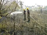 Incendio forestal en Soacha