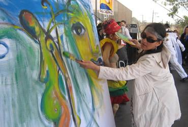 SERES y GEDAM, malabares, danzas y artes por la paz