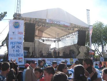 Bre-ska le pone ritmo al Festival de la Paz y la No Violencia