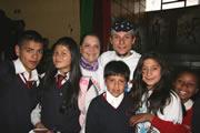Colegios se unen al Día de la No Violencia