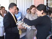 Gobierno entrega complementos nutricionales a madres gestantes y población vulnerable