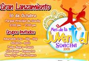 Mañana es el lanzamiento del mes de la juventud en Soacha