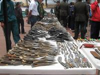 Soacha se convirtió en símbolo del desarme