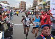 Atletas de Etiopía marcaron el paso en la XVIII carrera atlética de Soacha