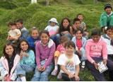 Con donaciones y trabajo voluntario se está realizando una Biblioteca para Cazuca