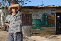 Celebración para niños y niñas en situación de desplazamiento