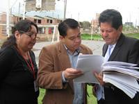 Hoy se realizó la inspección ocular a la urbanización San Carlos