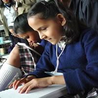 Soacha planea ser pionero con programa educativo en sensibilización a discapacitados.