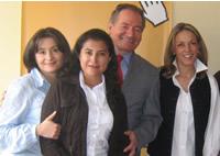 Fundación Clinton y Pies Descalzos de visita hoy en Soacha