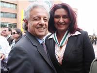 Gobernación condecora a alcaldesa Fabiola Jácome