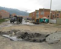 El aguacero que puso a prueba a las autoridades de Soacha