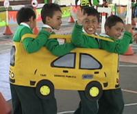 Seguridad vial para los niños de Sibaté