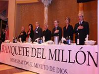 Todo listo para la cita solidaria del jueves con el Banquete del Millón