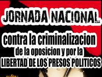 Jornada Nacional «Criminalización de la oposición y situación de los prisioneros políticos en Colombia»