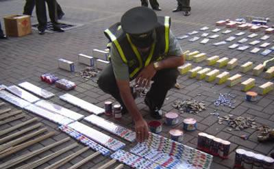 Comenzó a regir decreto que prohibe uso de pólvora en Soacha
