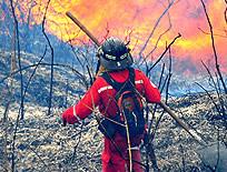 Menores de edad provocan incendio
