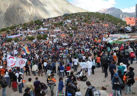 Concluyó Marcha Mundial Por La Paz y No Violencia