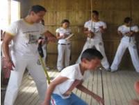 Altos del Pino, una escuela  de Capoeira y el sueño de 18 niños