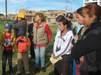 Jornada pedagógica ambiental en el humedal Tibanica