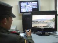 Policía de Sibaté vigila las calles con cámaras de seguridad