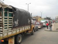 Tractomula origina gigantesco trancón en la Autopista