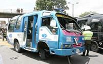 Diez heridos dejó accidente de un colectivo de Soacha