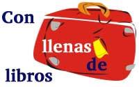 Maletas viajeras  equipadas  de literatura para el municipio