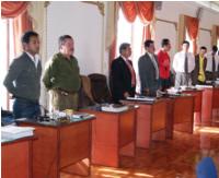 Comisiones del concejo nombraron presidente y vicepresidente