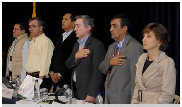 Consejo Comunal de Ediles y Gobierno Nacional.