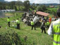 18 personas se recuperan en hospitales de Soacha luego de accidente del pasado domingo