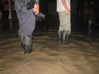 Delicada emergencia en Valles de Santa Ana