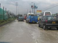 Tensión por inundaciones en la comuna tres
