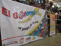 Equipos de Golombiao participaron en el juego de la paz