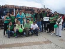 La «Ola Verde» se toma Soacha