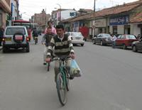 La imprudencia de los ciclistas no tiene límite