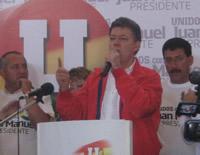 """Operación """"Jaque"""" a la delincuencia en Soacha propuso Juan Manuel Santos"""