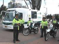 Listo dispositivo de seguridad para el día de las elecciones en Bogotá