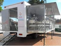 Soacha recibió las 14 Aulas Móviles que serán usadas en toda Cundinamarca