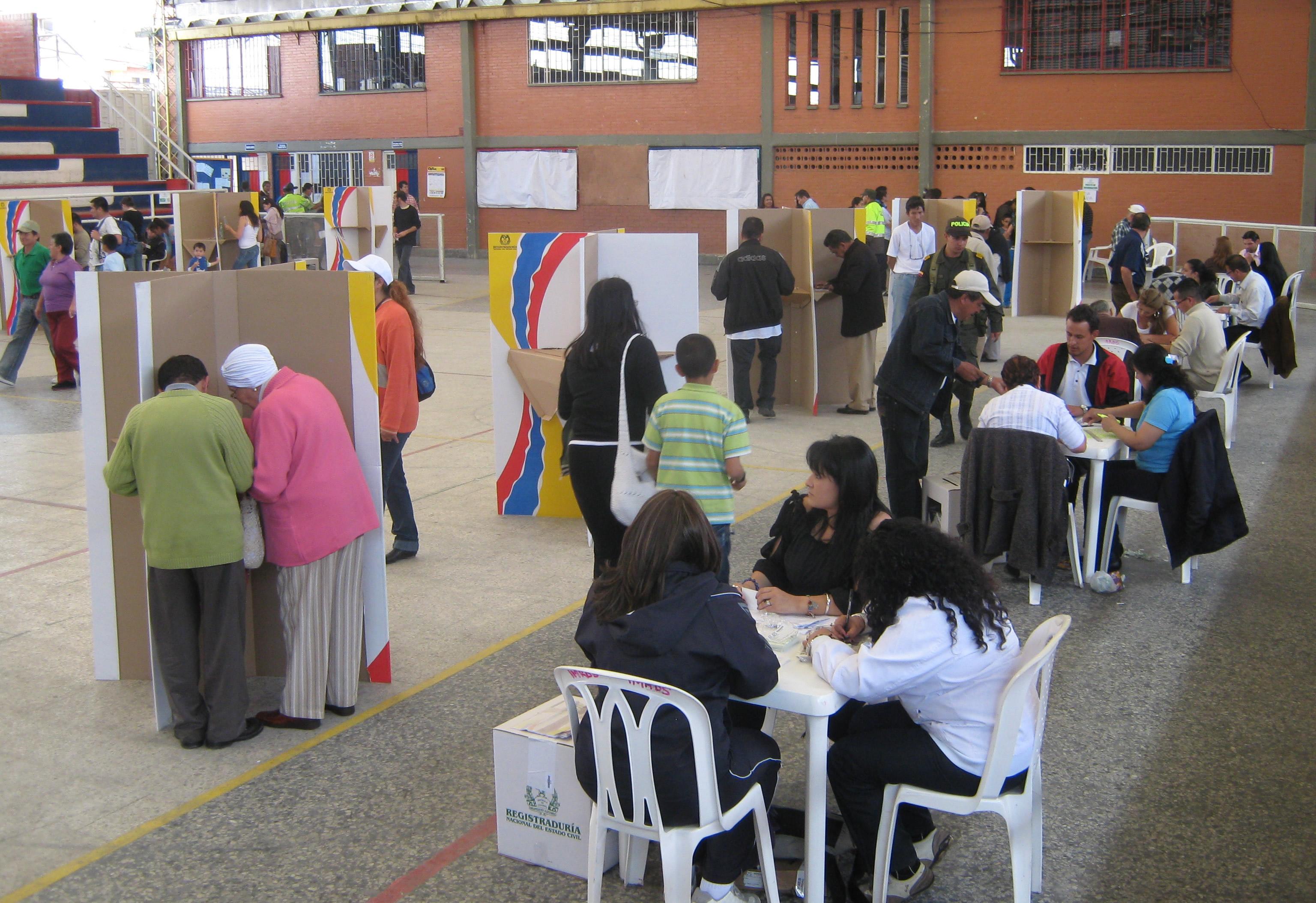 Avanza conteo de los resultados electorales en Soacha