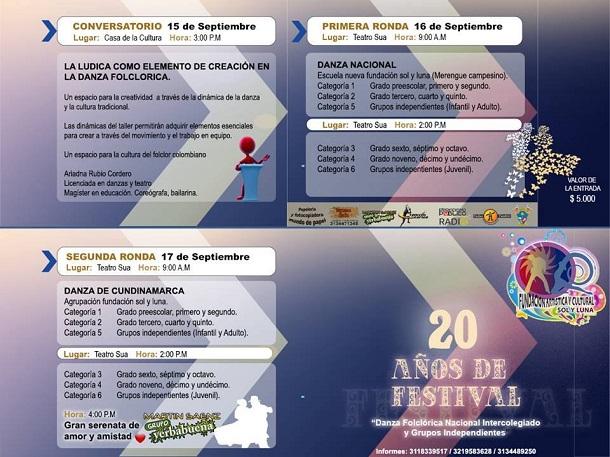 Con un gran bingo bazar se celebró el día de la familia del Colegio Bolívar