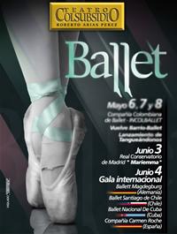 Cinco compañías internacionales de ballet en el Teatro Colsubsidio