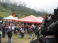 En medio de la niebla y las alteraciones climáticas,  los docentes de Soacha disfrutaron su día