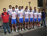 Seis ciclistas soachunos representarán a Colombia en España